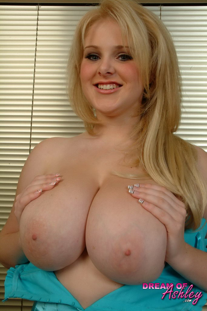 Ashley Sage Shows You Her Big Boobs And Hard Nipples