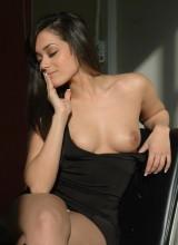 Ivy Black Topless Studio