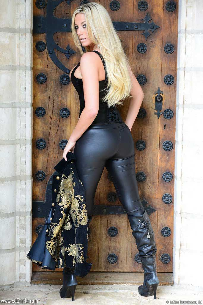 Busty blondes tight jeans