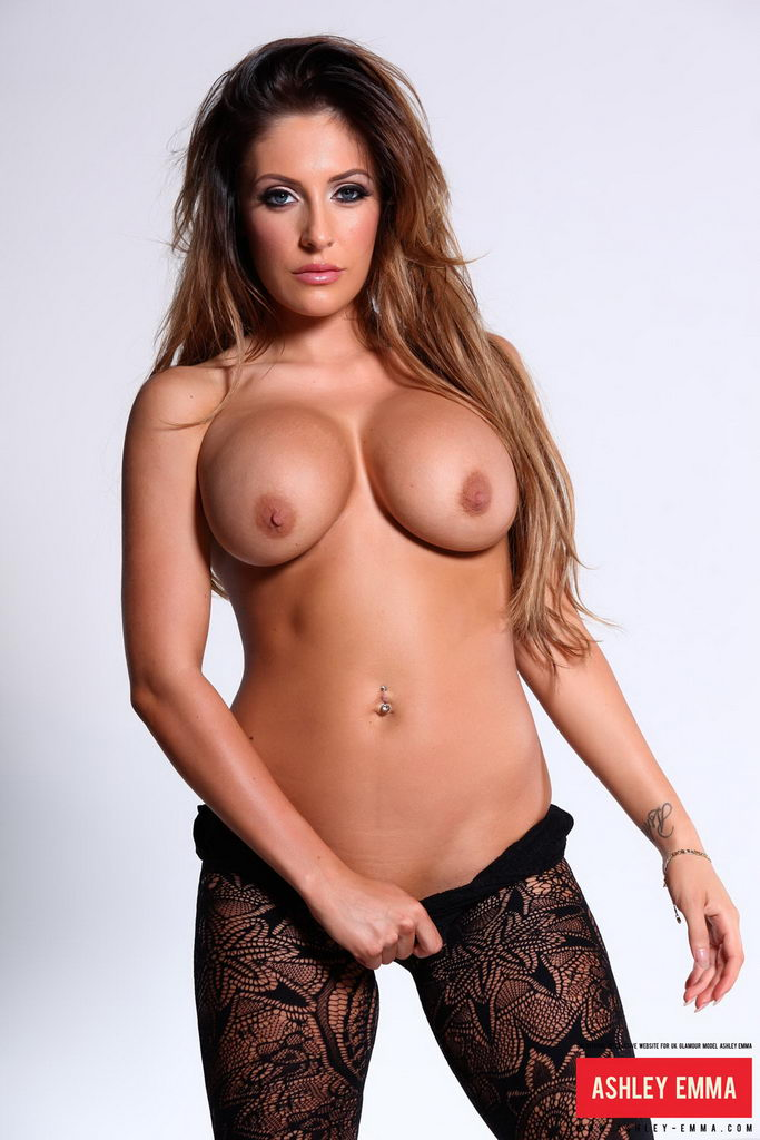 huge naked breasts kisses