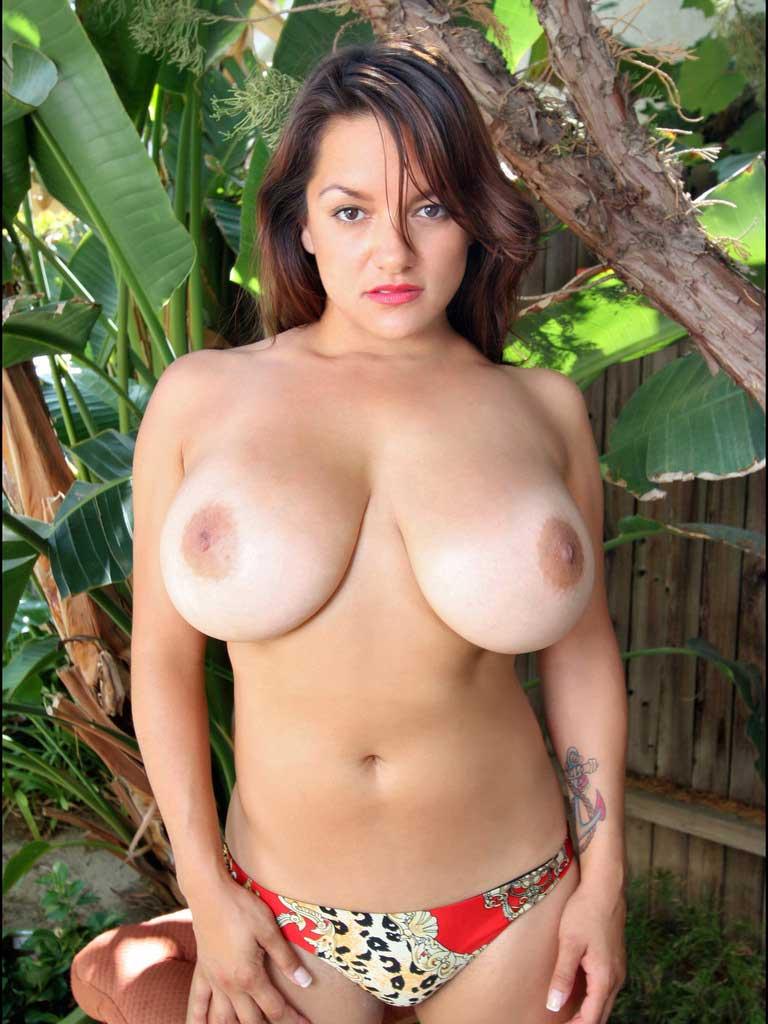 Big tits sling bikini