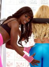 Aaliyah Love & Ana Foxxx 2