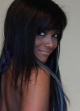 Ivy Black Blue Micro Bikini
