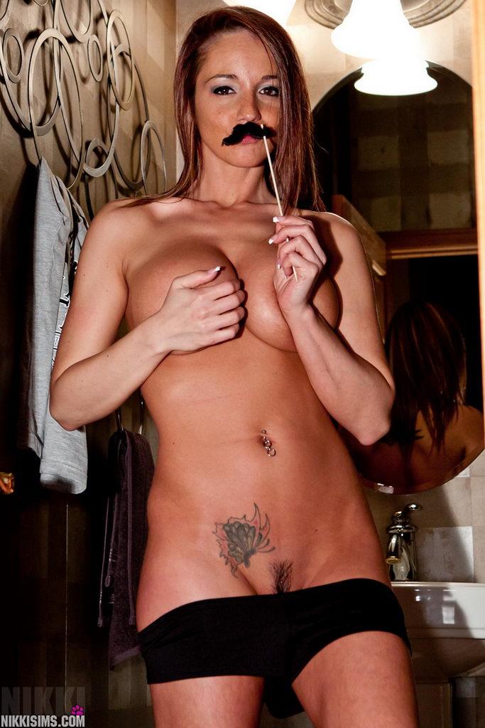 Nikki Sims - Mustache
