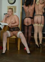 St Mackenzies: Billie Evans, Mercedes Marston, Miss Cox - Striptease class room