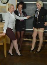 Billie Evans, Mercedes Marston, Miss Cox 6