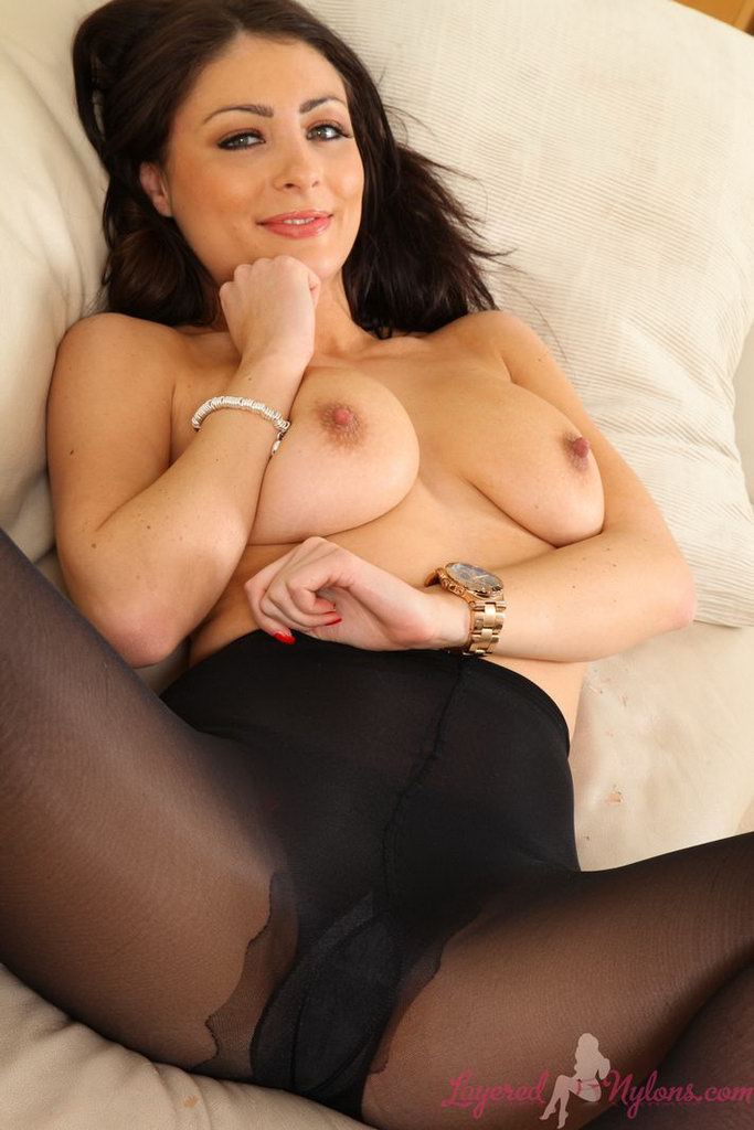 Remarkable Layered pantyhose nylons and tammy speaking, would