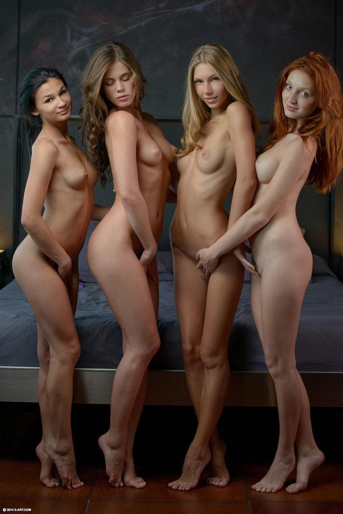 фото интересные голых девушек