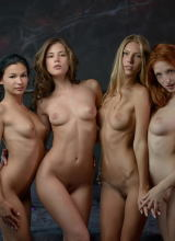 Caprice, Angelica, The Red Fox & Keira 8