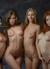 Caprice, Angelica, The Red Fox & Keira 9
