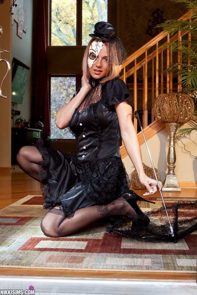 Happy Halloween From Nikki Sims