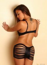 Justene Jaro gets naked