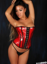 Alluring Vixens: Jada Cheng - Tight corset