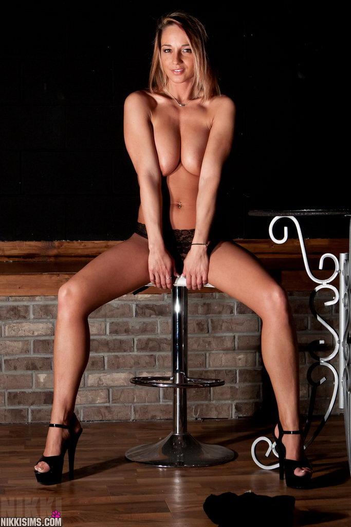 Nikki Sims - Sexy Black Lace