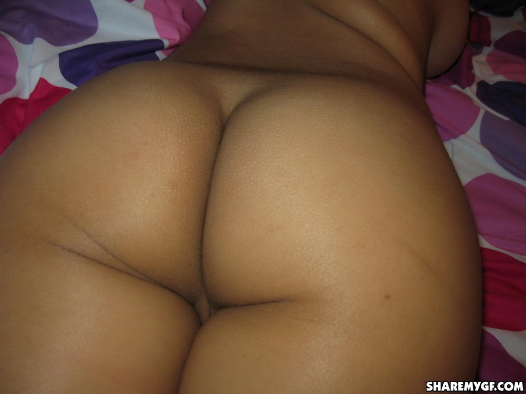 Share My Gf: Busty Latino Girlfriend Lets Her Friend Take Naked Pictures Of Her In Bed