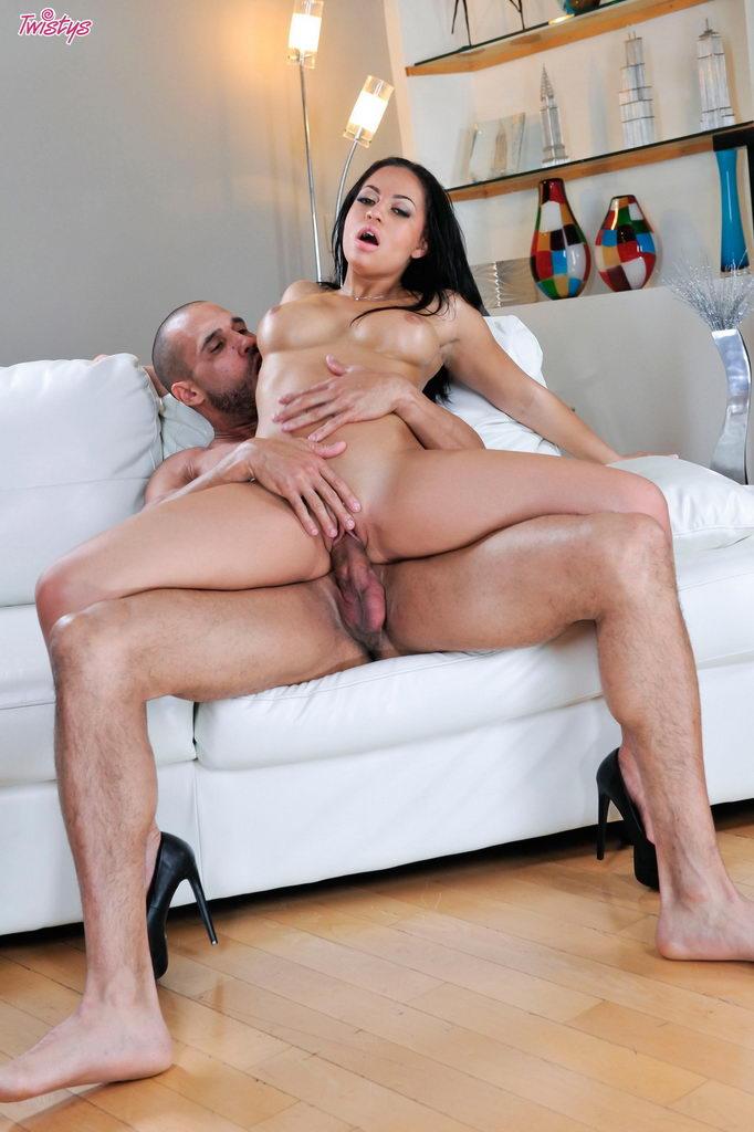 Twistys: Sexy Karissa Kane Rides A Throbbing Meat Rod