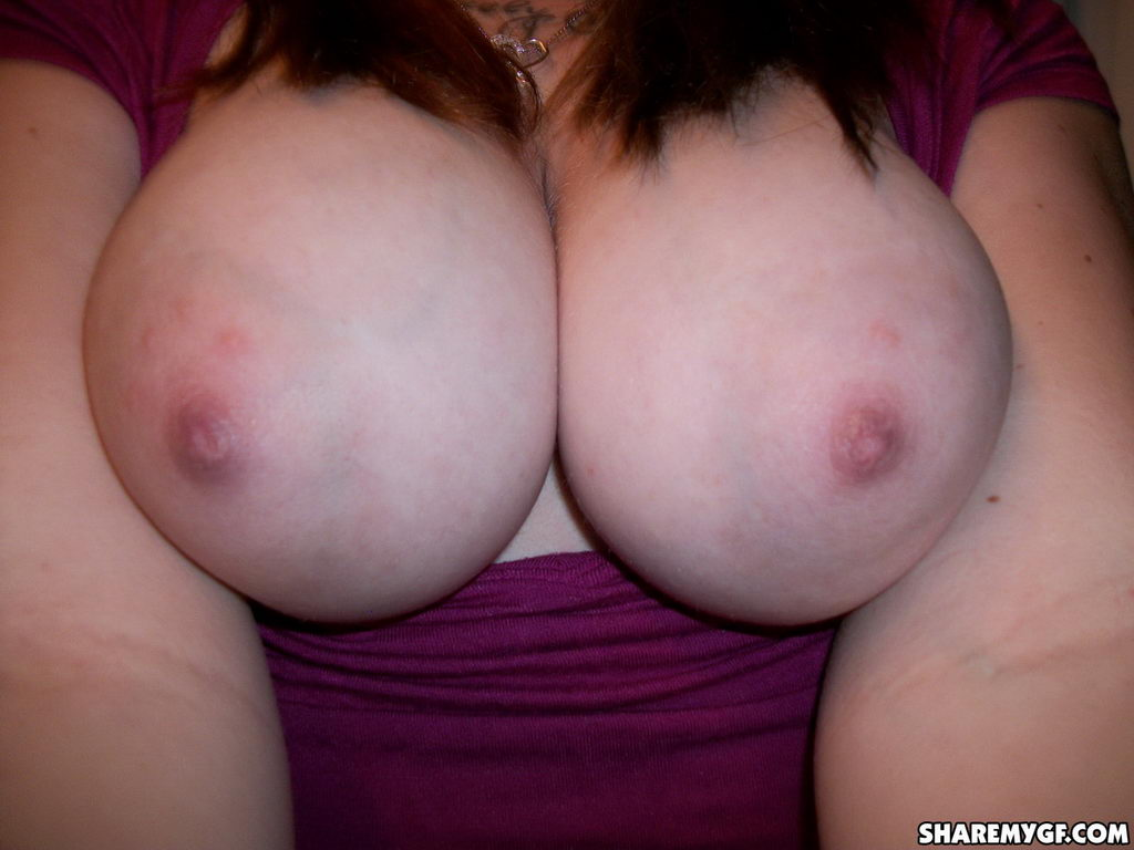 Share My Gf: Mia Shows Off Her Huge Tits