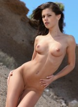 Met-Art: Little Caprice - Beach