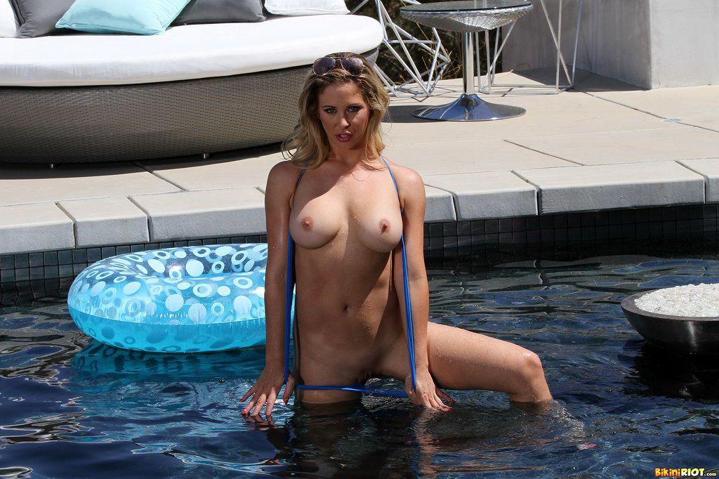 Possible tell, Milf in sheer bikini