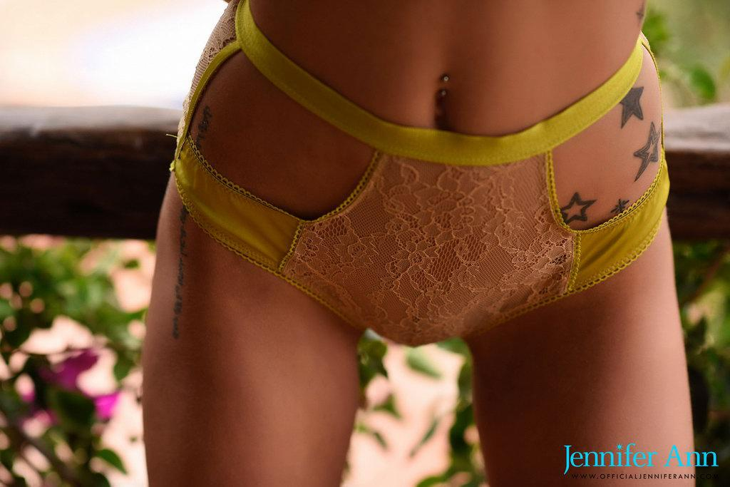 Jennifer Ann In Her Sexy Lingerie