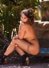Sarah McDonald Strips Naked Outdoors