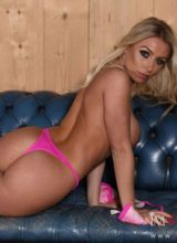 Stacey Robyn in Sexy Pink Lingerie