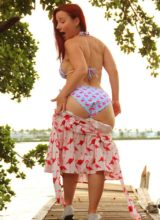 Sexy Pattycake - Falmingo Bikini