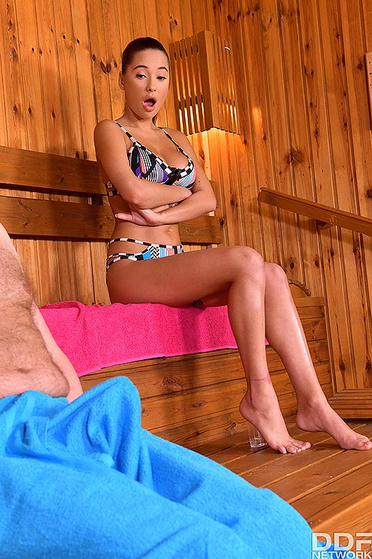 Hands On Hardcore: Liya Silver - Cumshot On Big Natural Tits