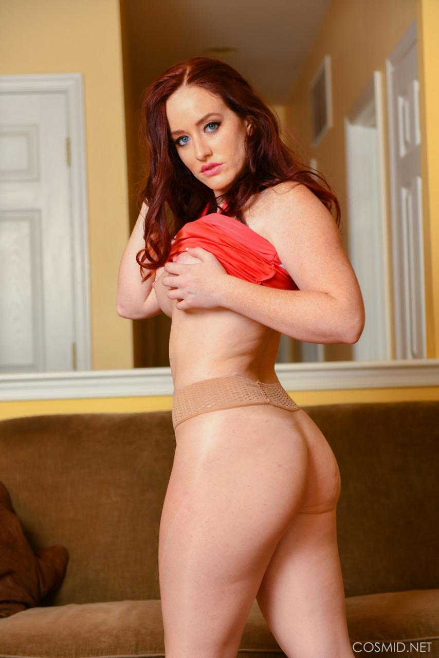 Cosmid: Hannah Moore Red Dress  11