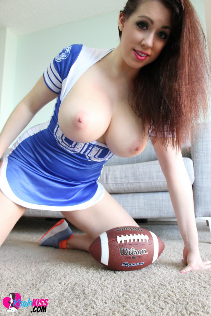 Kayla Kiss - Naked Football 5