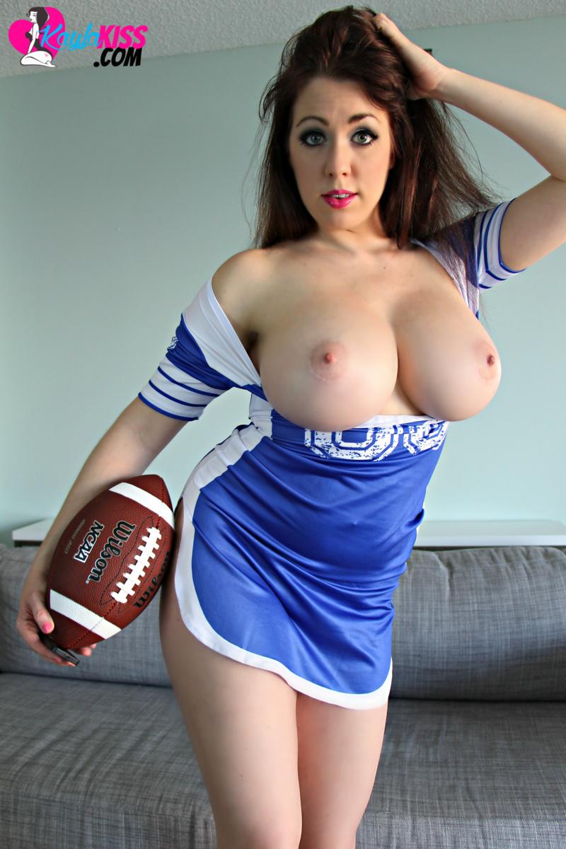 Kayla Kiss - Naked Football 10