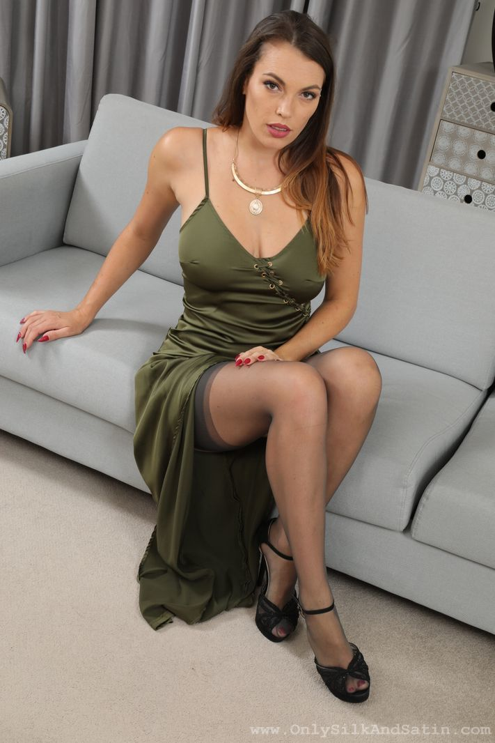 Only Silk and Satin: Dominika K - 2