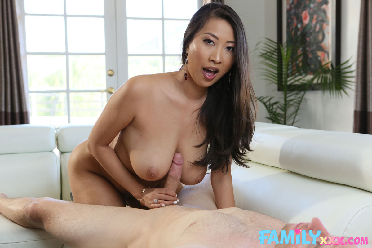 New Sensations - Sharon Lee Busty Asian Boned Hard 5