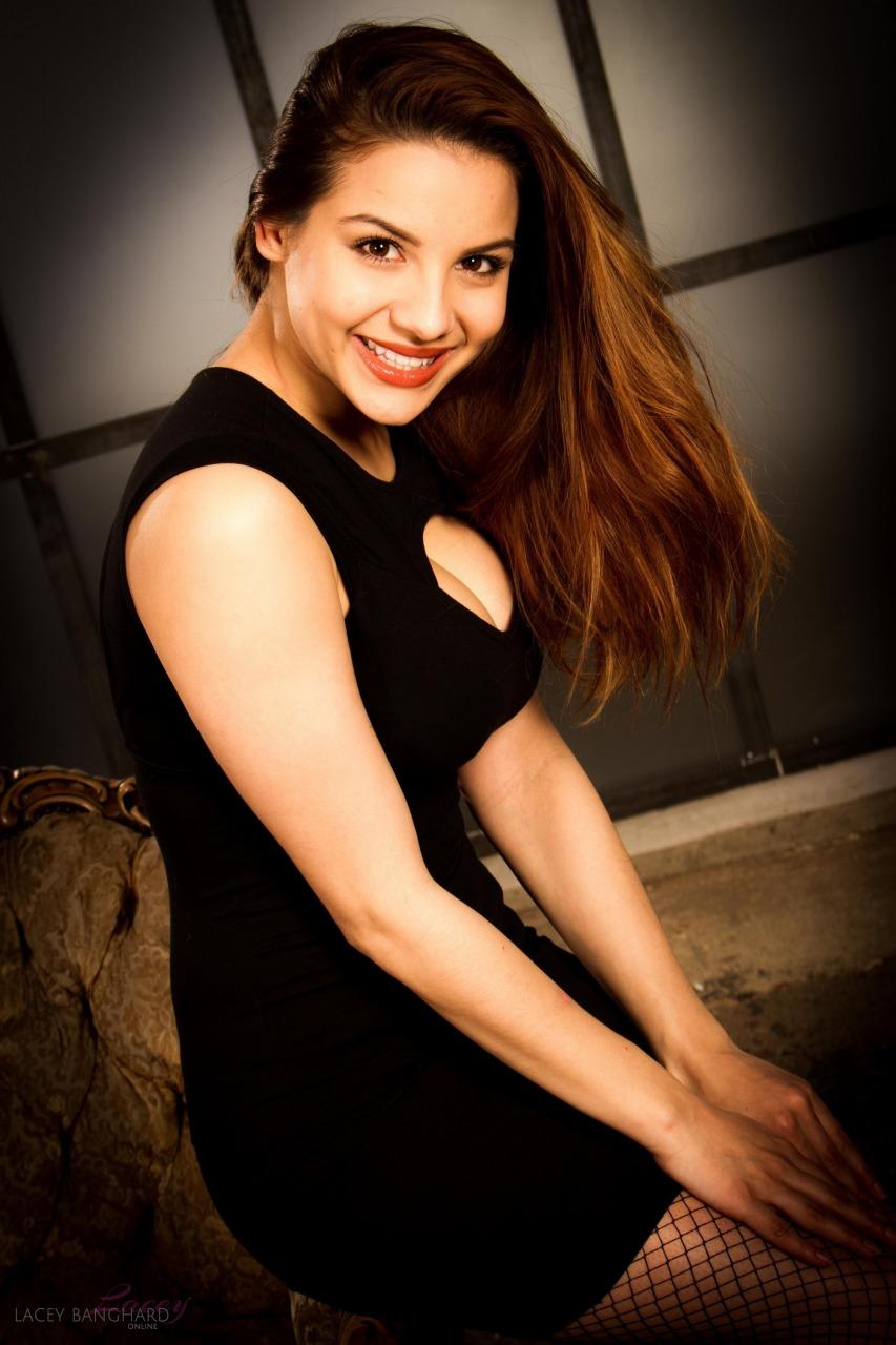 Lacey Banghard - Lbo Black Dress 2
