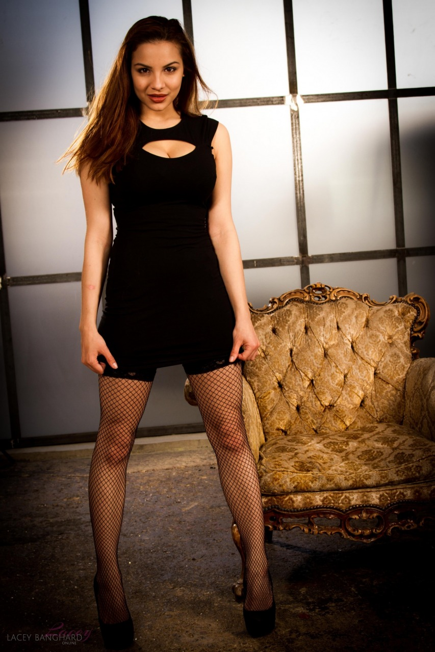 Lacey Banghard - Lbo Black Dress 4