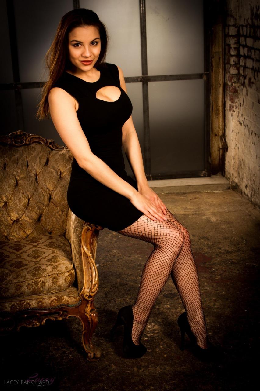 Lacey Banghard - Lbo Black Dress 1