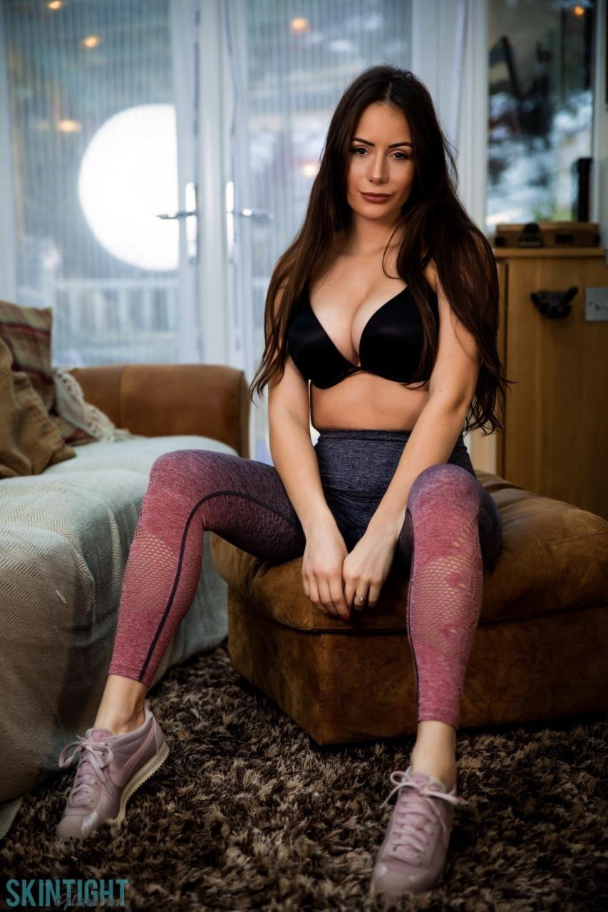 Skin Tight Glamour: Laura Hollyman - Cute Cool Down 3