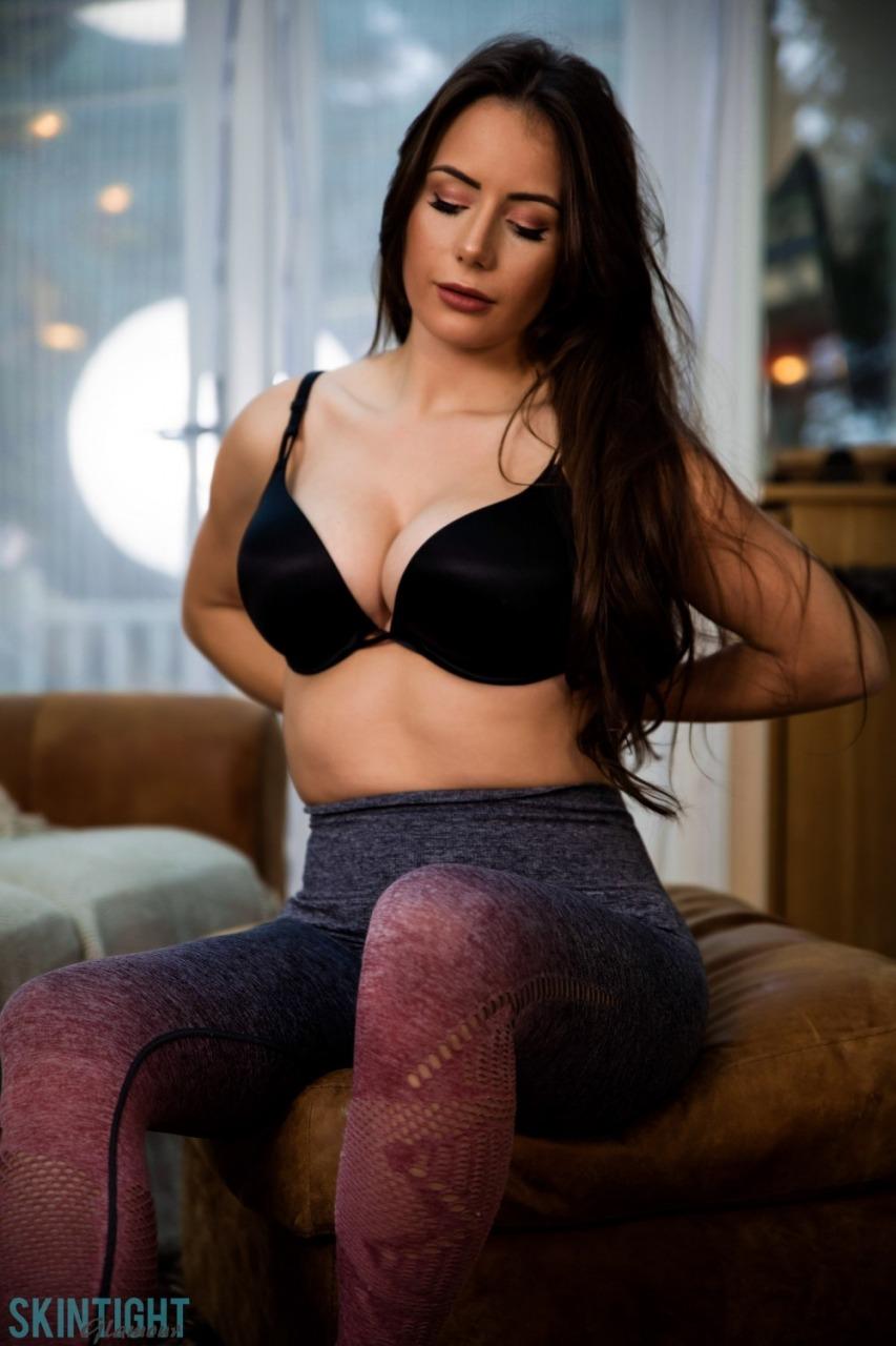 Skin Tight Glamour: Laura Hollyman - Cute Cool Down 5