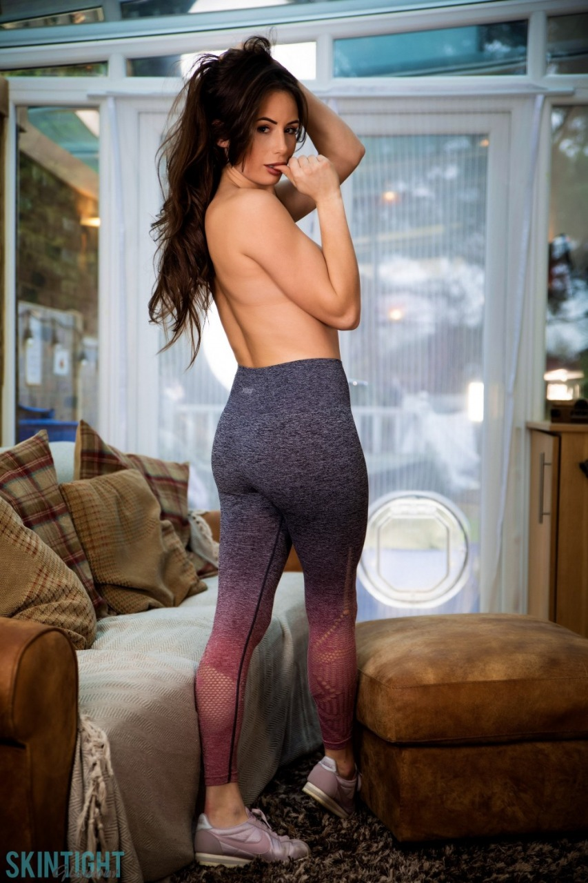 Skin Tight Glamour: Laura Hollyman - Cute Cool Down 6