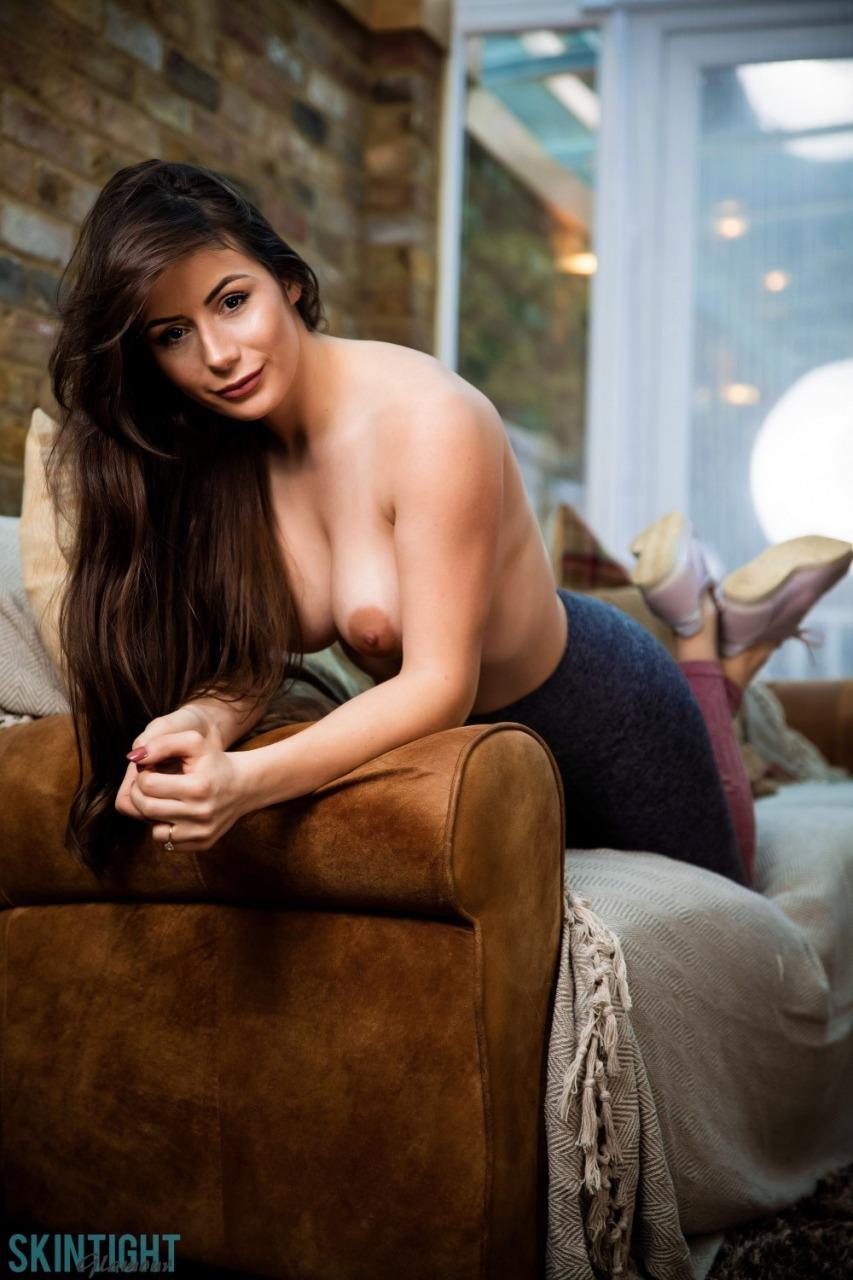 Skin Tight Glamour: Laura Hollyman - Cute Cool Down 8
