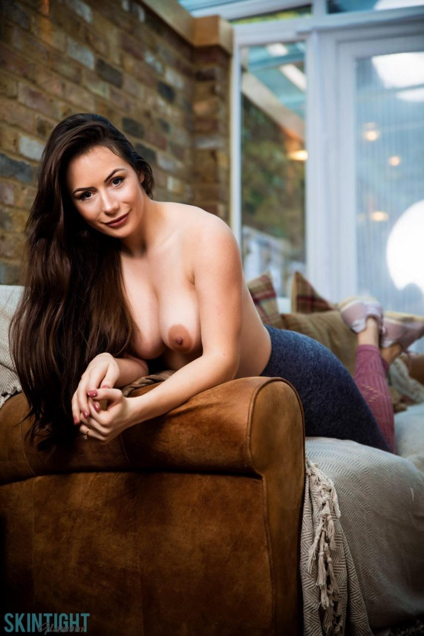 Skin Tight Glamour: Laura Hollyman - Cute Cool Down 9