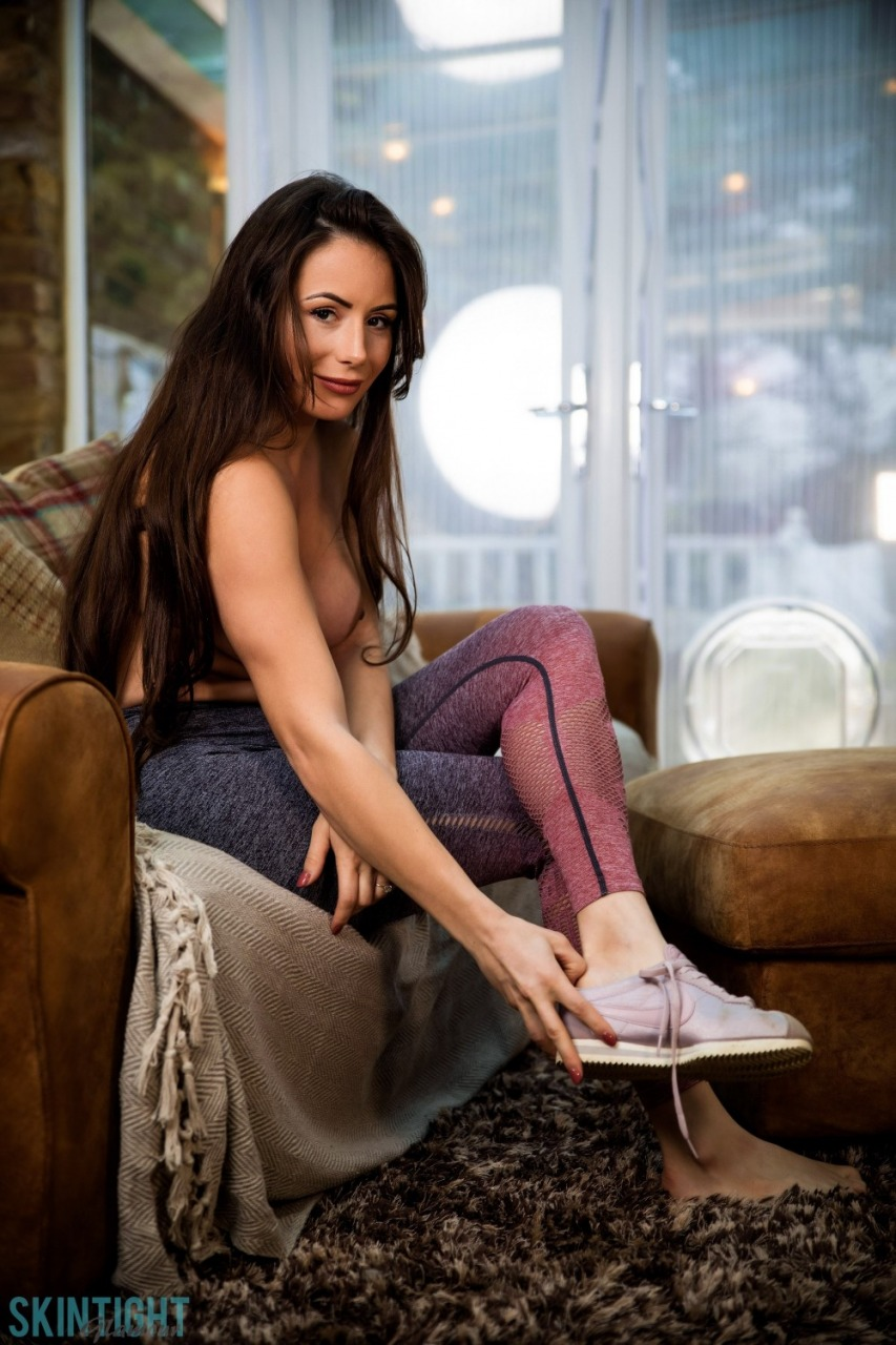 Skin Tight Glamour: Laura Hollyman - Cute Cool Down 10