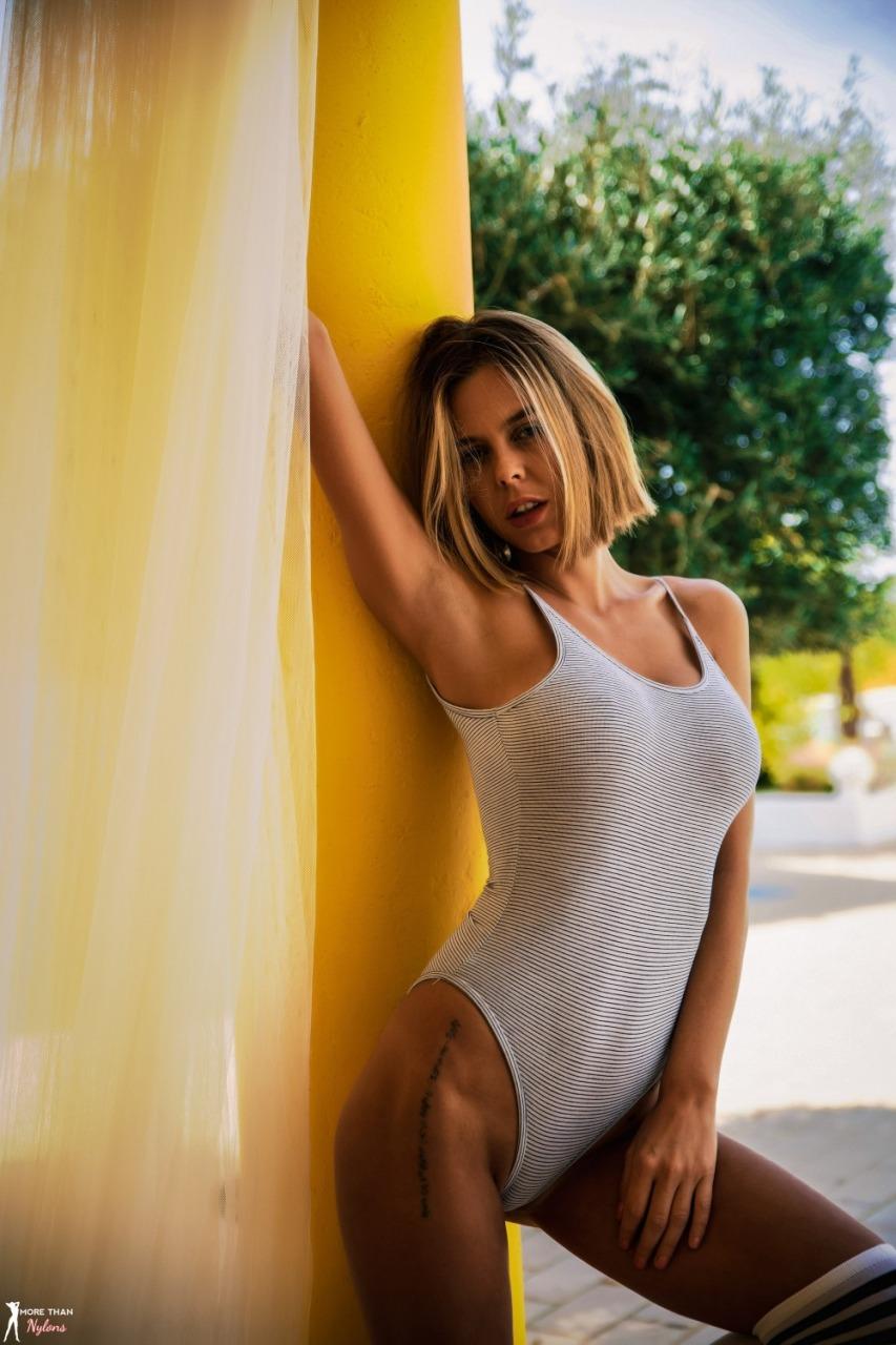 More Than Nylons: Jennifer Ann - Knee High 5