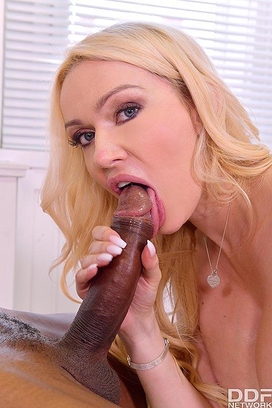 DDF Busty: Amber Jayne - Big Boobs Bounce on Big Black Cock 10