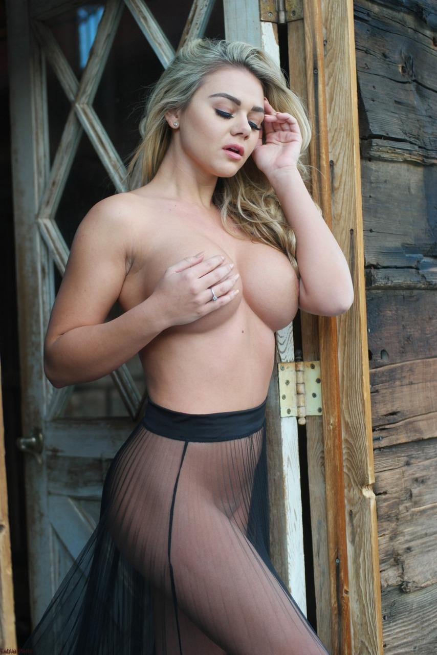 Tahlia Paris - Sheer Skirt Nudes 6
