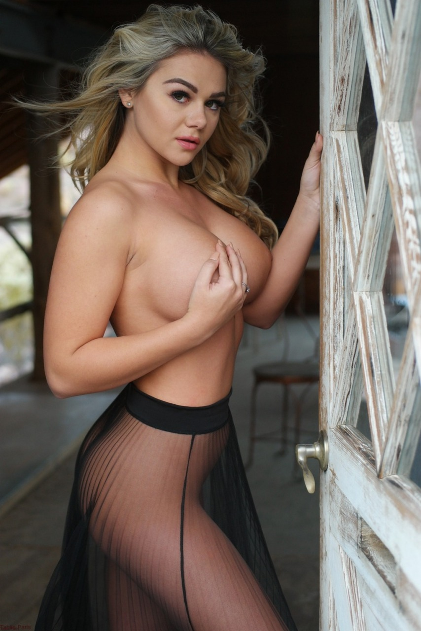 Tahlia Paris - Sheer Skirt Nudes 8