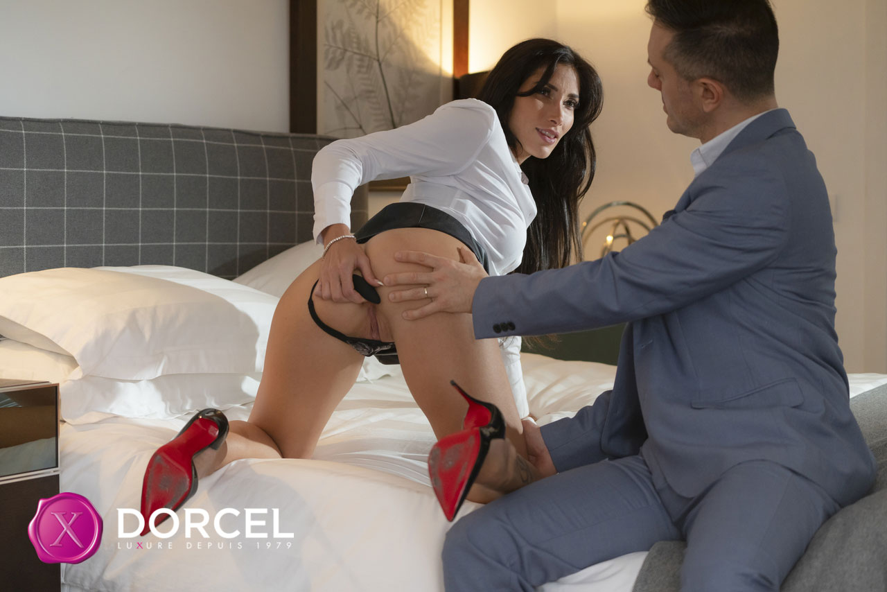 Dorcel Club - Clea Gaultier Busty Babe Rides Dick 2