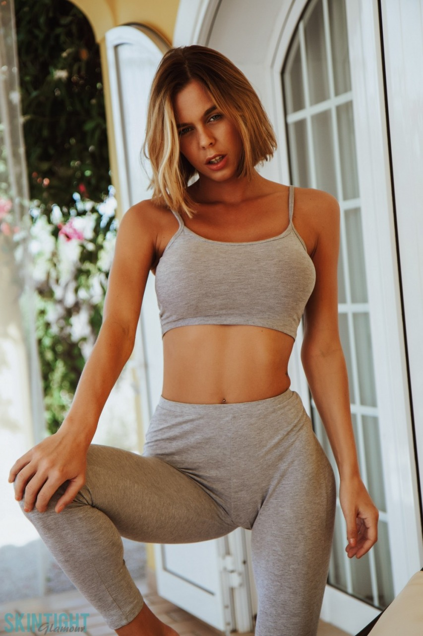 Skin Tight Glamour: Jennifer Ann - After We Work Out 4