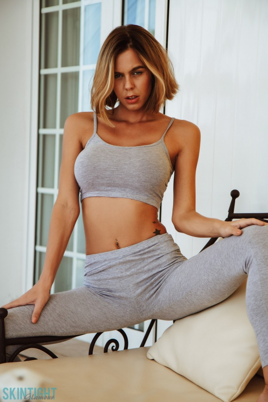 Skin Tight Glamour: Jennifer Ann - After We Work Out 6