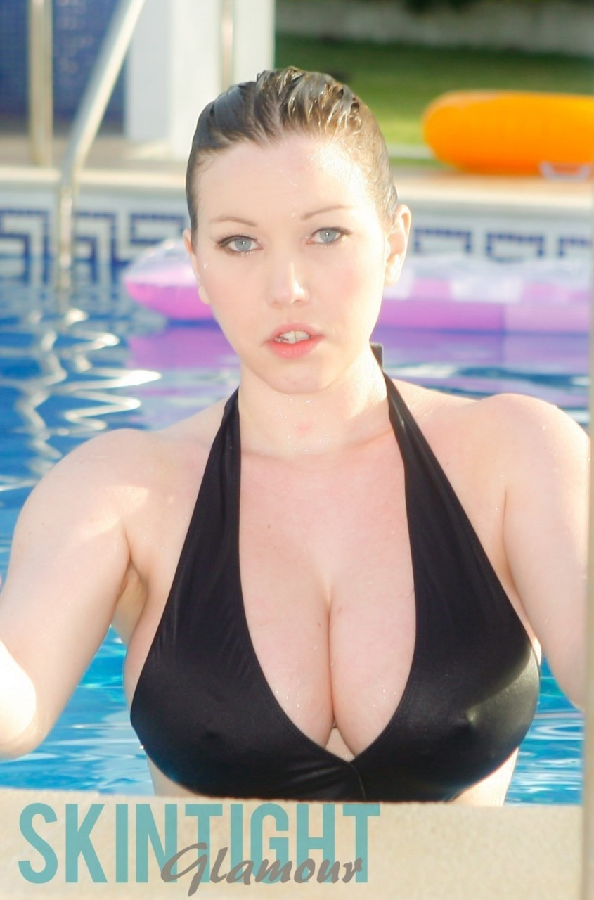 Skin Tight Glamour: Lyla Ashby - Pool Time 1